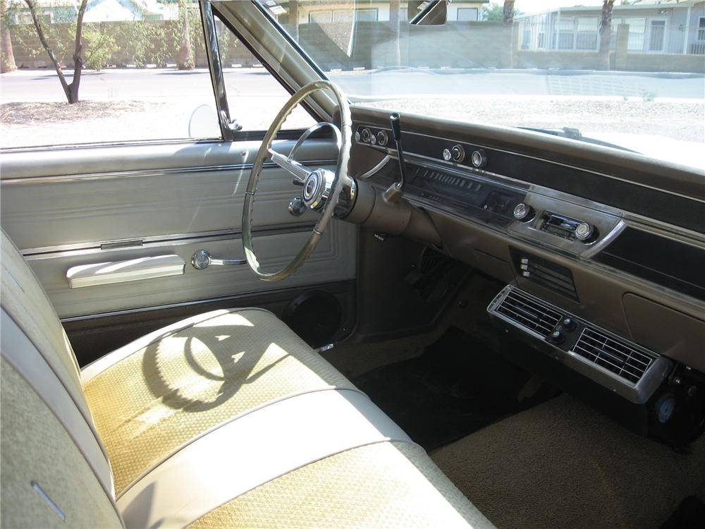 1966 CHEVROLET CHEVELLE 2 DOOR HARDTOP - Interior - 113433