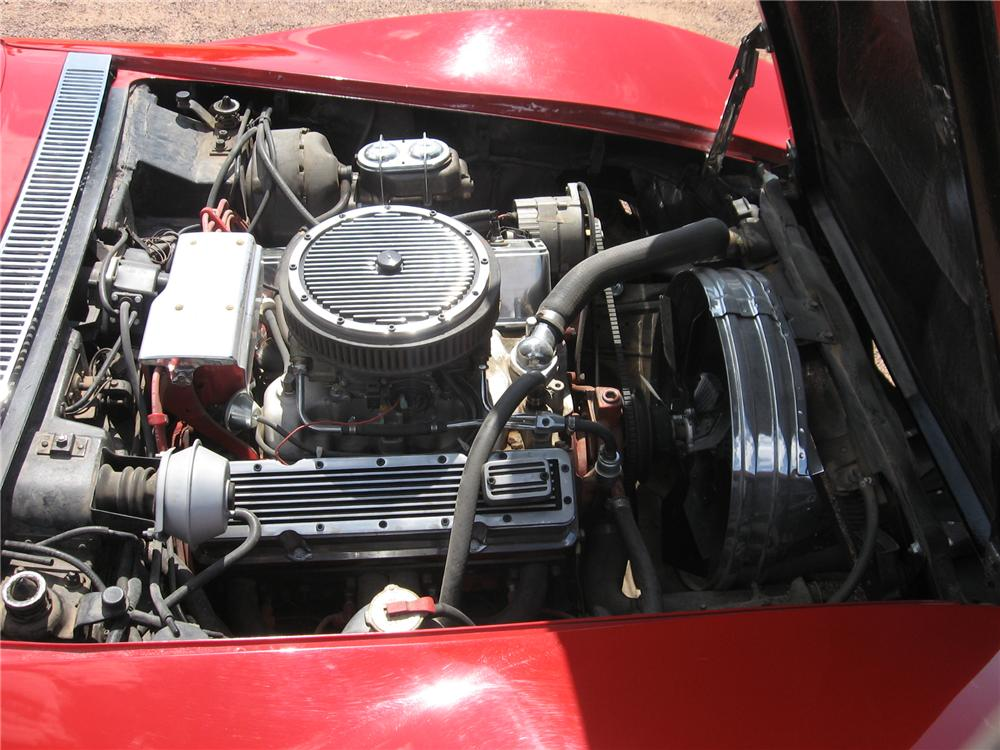 1972 CHEVROLET CORVETTE 2 DOOR COUPE - Engine - 113434