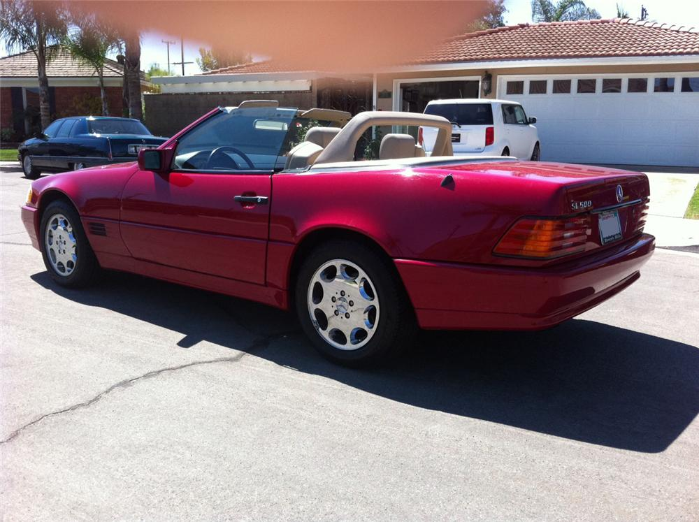 1995 mercedes benz sl500 convertible 113435