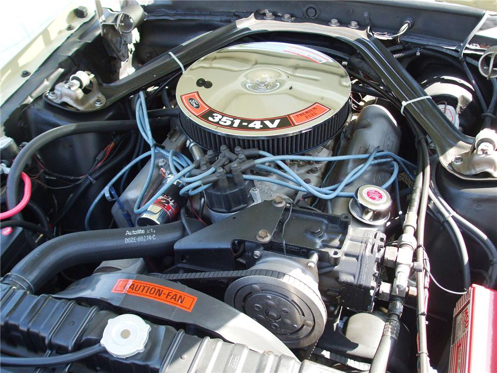 1970 MERCURY COUGAR XR7 COUPE - Engine - 113438