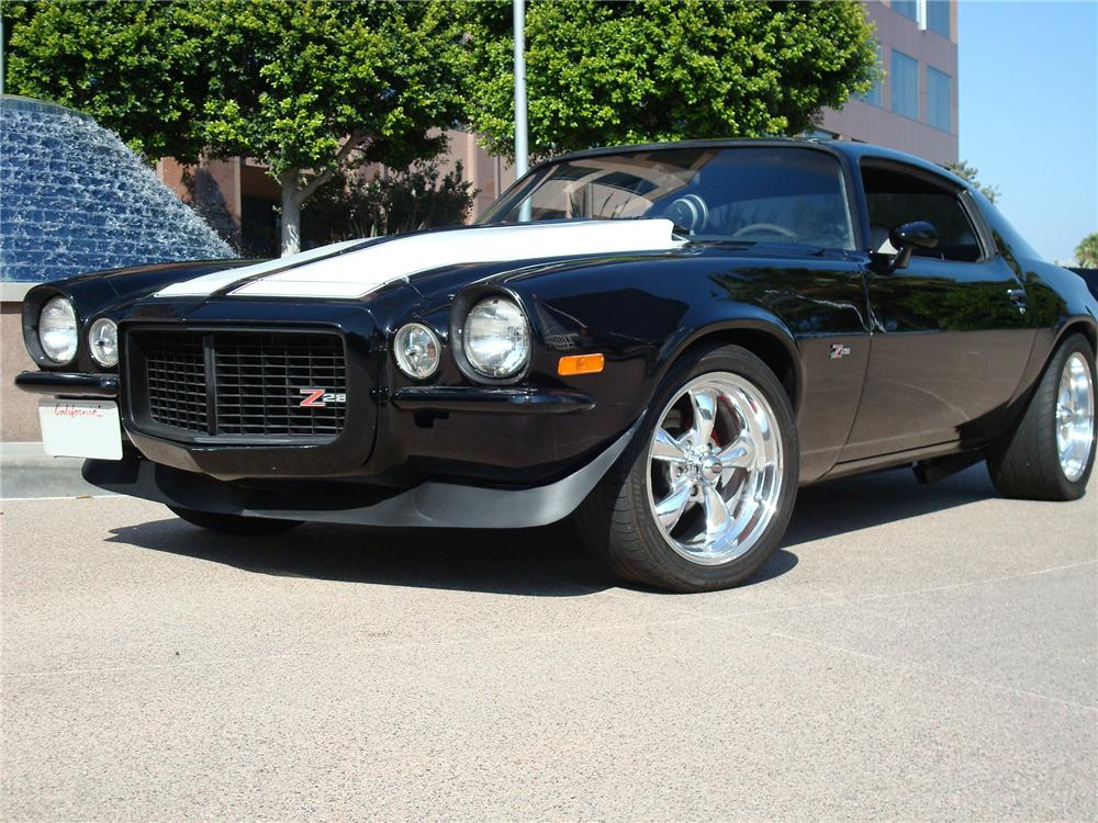 1970 CHEVROLET CAMARO CUSTOM 2 DOOR COUPE - Front 3/4 - 113443
