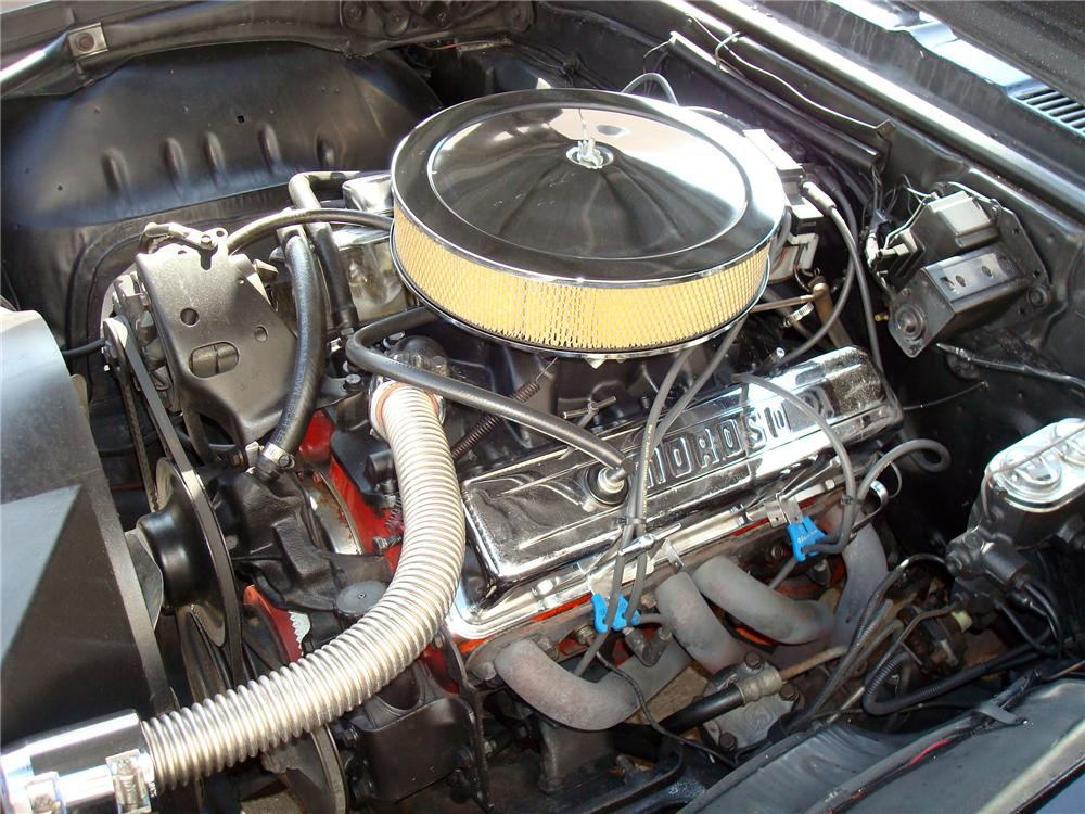 1969 CHEVROLET CAMARO CUSTOM 2 DOOR COUPE - Engine - 113444