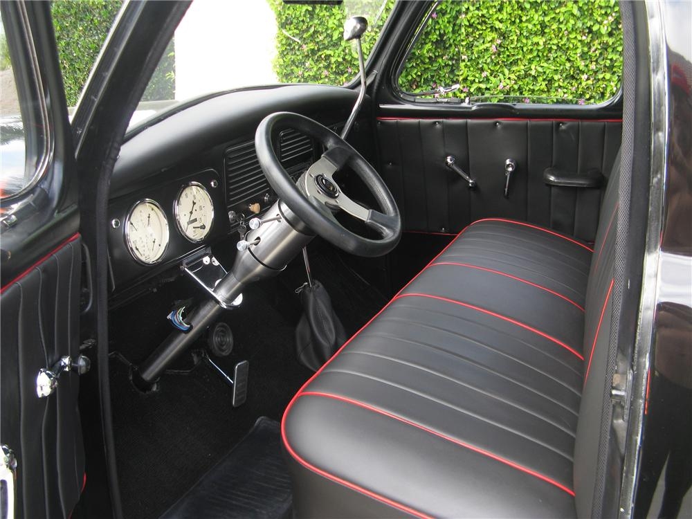 1956 STUDEBAKER CUSTOM PICKUP - Interior - 113448