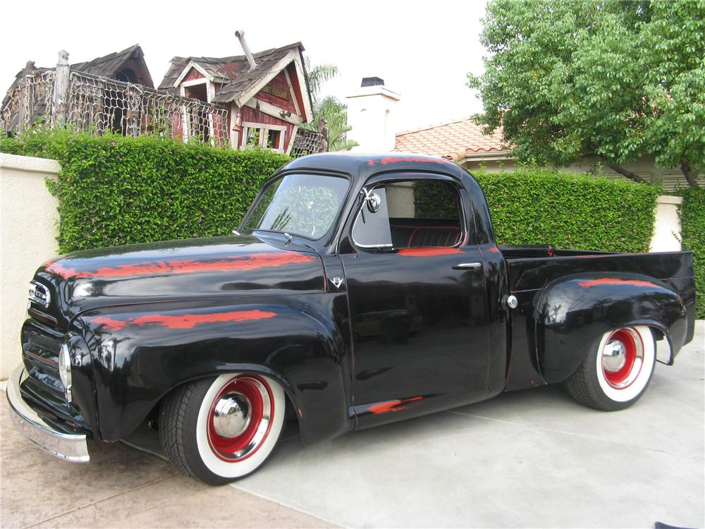 1956 STUDEBAKER CUSTOM PICKUP - Side Profile - 113448