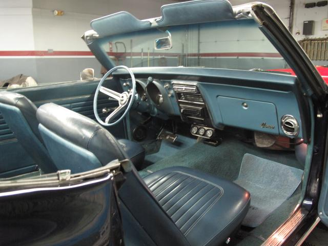 1968 CHEVROLET CAMARO SS CONVERTIBLE - Interior - 113451