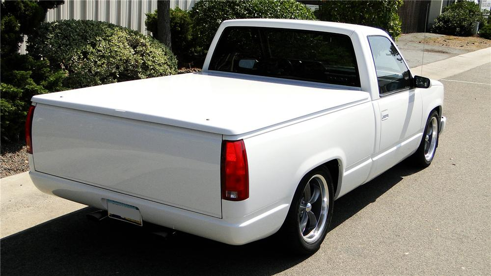 1988 GMC CUSTOM PICKUP - Rear 3/4 - 113460