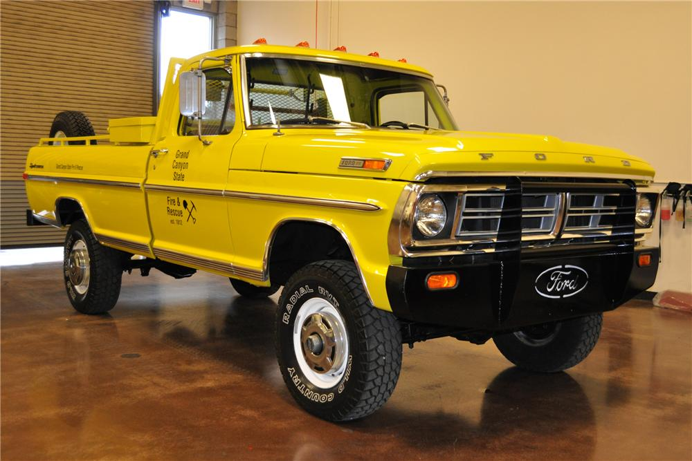 1970 FORD F-250 PICKUP - Front 3/4 - 113463