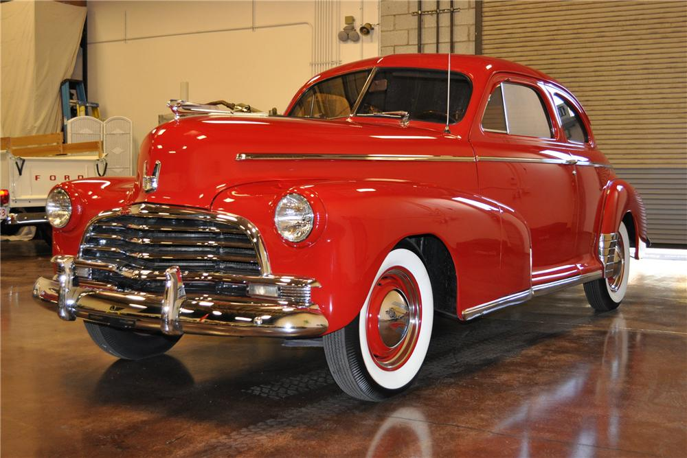 1946 CHEVROLET STYLEMASTER 2 DOOR COUPE - Front 3/4 - 113464