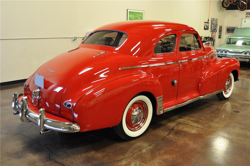 1946 CHEVROLET STYLEMASTER 2 DOOR COUPE - Rear 3/4 - 113464