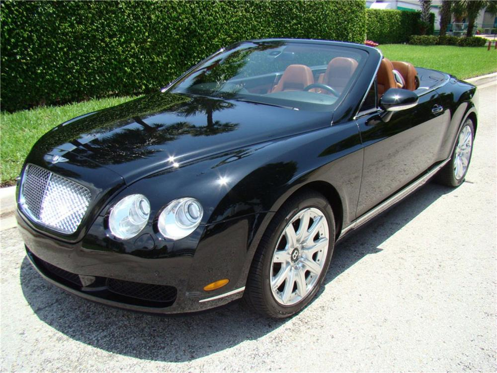 2007 BENTLEY CONTINENTAL GTC CONVERTIBLE - Front 3/4 - 113466