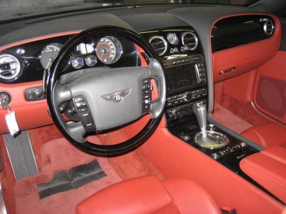 2007 BENTLEY CONTINENTAL GTC CONVERTIBLE - Interior - 113466