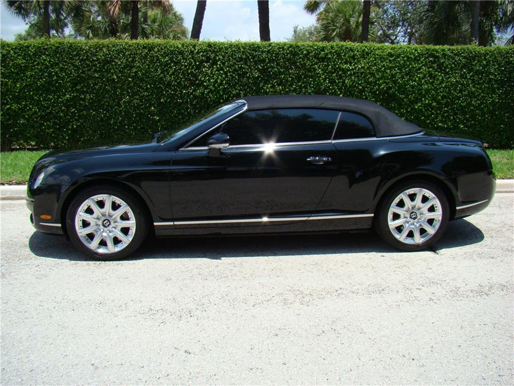 2007 BENTLEY CONTINENTAL GTC CONVERTIBLE - Side Profile - 113466