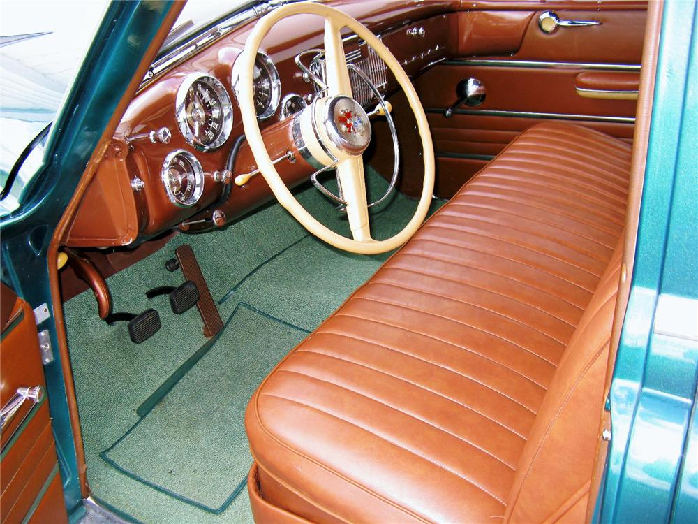 1951 FRAZER 4 DOOR VAGABOND - Interior - 113468