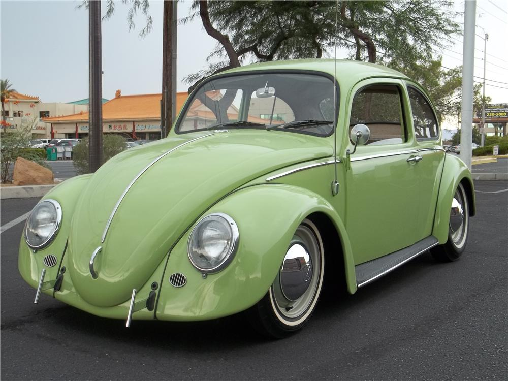 Superb ... 1966 VOLKSWAGEN BEETLE CUSTOM SUICIDE DOOR SEDAN   Front 3/4   113470  ...