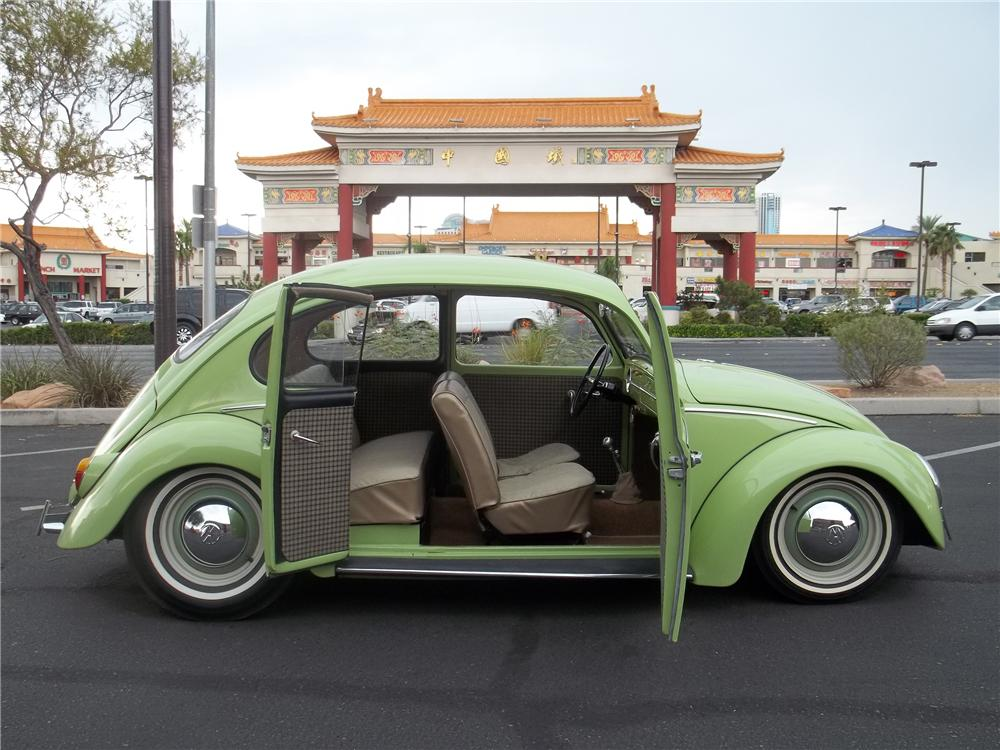 1966 VOLKSWAGEN BEETLE CUSTOM SUICIDE DOOR SEDAN - Side Profile - 113470