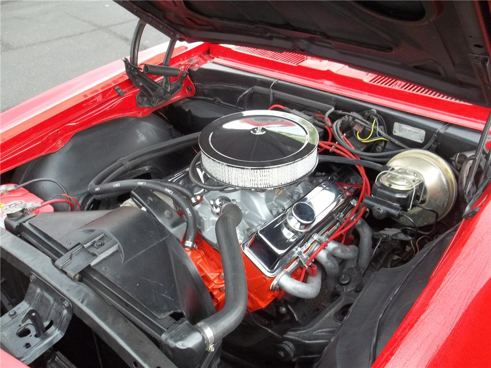 1967 CHEVROLET CAMARO 2 DOOR COUPE - Engine - 113472