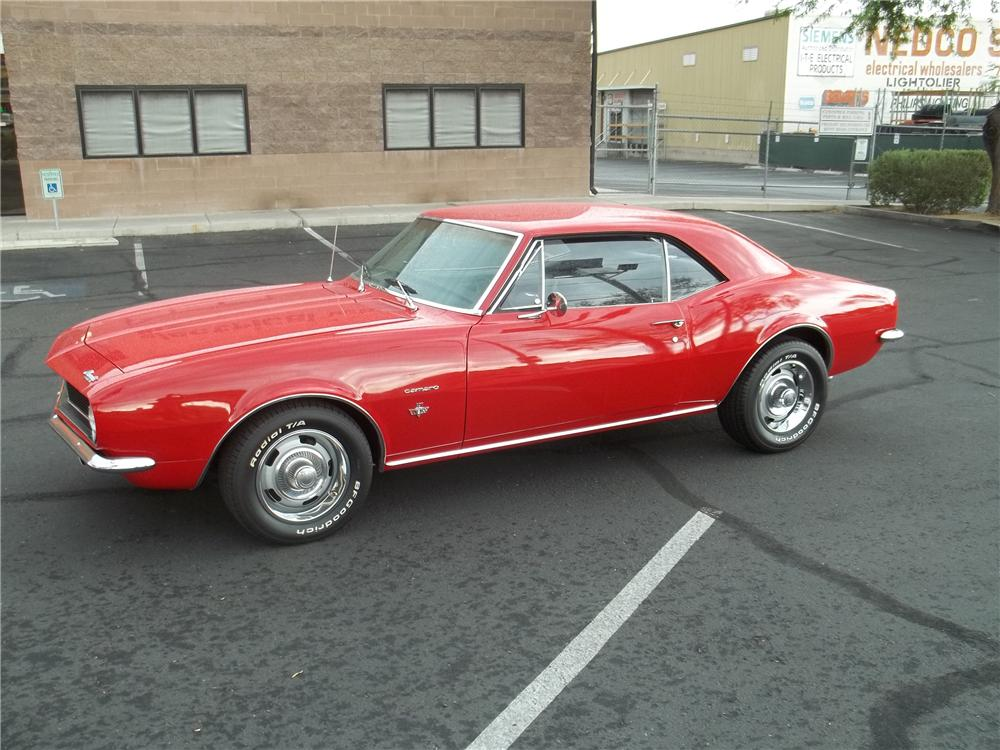 1967 CHEVROLET CAMARO 2 DOOR COUPE - Side Profile - 113472