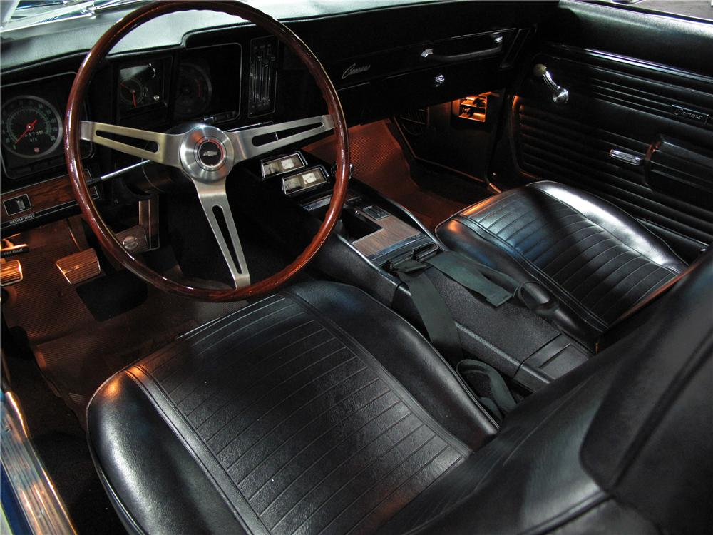 1969 CHEVROLET CAMARO Z/28 2 DOOR COUPE - Interior - 113477