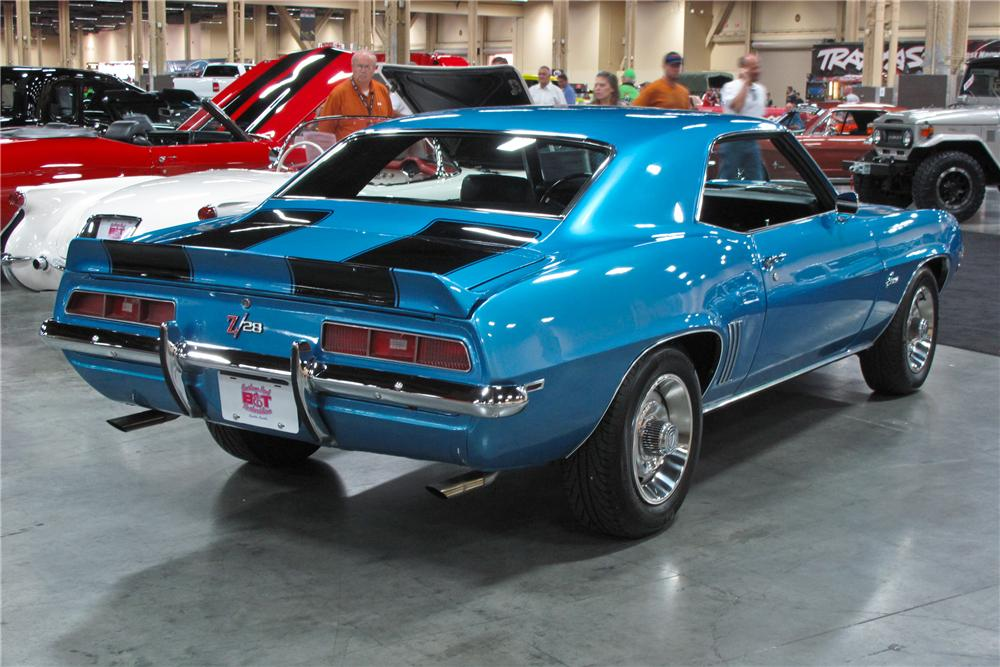 1969 CHEVROLET CAMARO Z/28 2 DOOR COUPE - Rear 3/4 - 113477