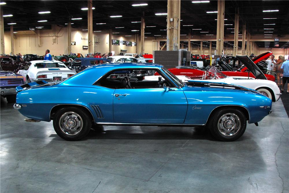 1969 CHEVROLET CAMARO Z/28 2 DOOR COUPE - Side Profile - 113477