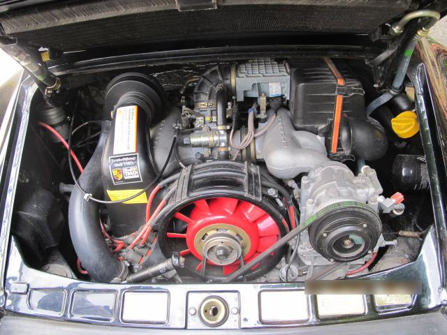 1989 PORSCHE 911 SPEEDSTER - Engine - 113735