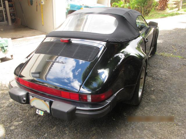 1989 PORSCHE 911 SPEEDSTER - Rear 3/4 - 113735