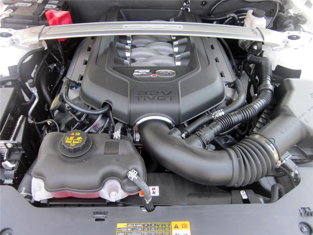 2012 FORD MUSTANG GT CONVERTIBLE - Engine - 113850
