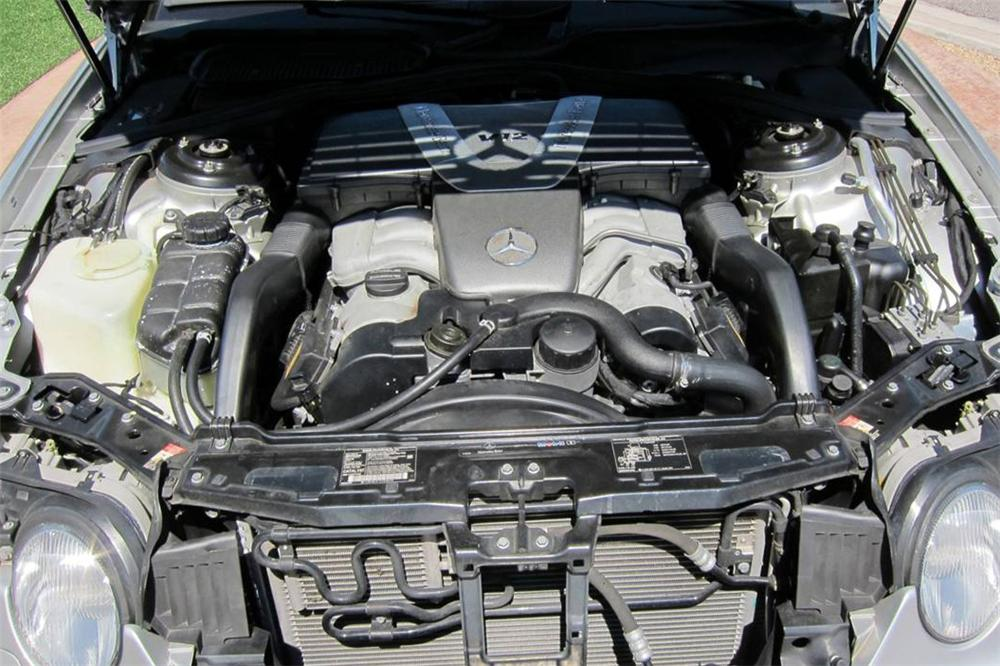 2002 MERCEDES-BENZ CL600 COUPE - Engine - 114593
