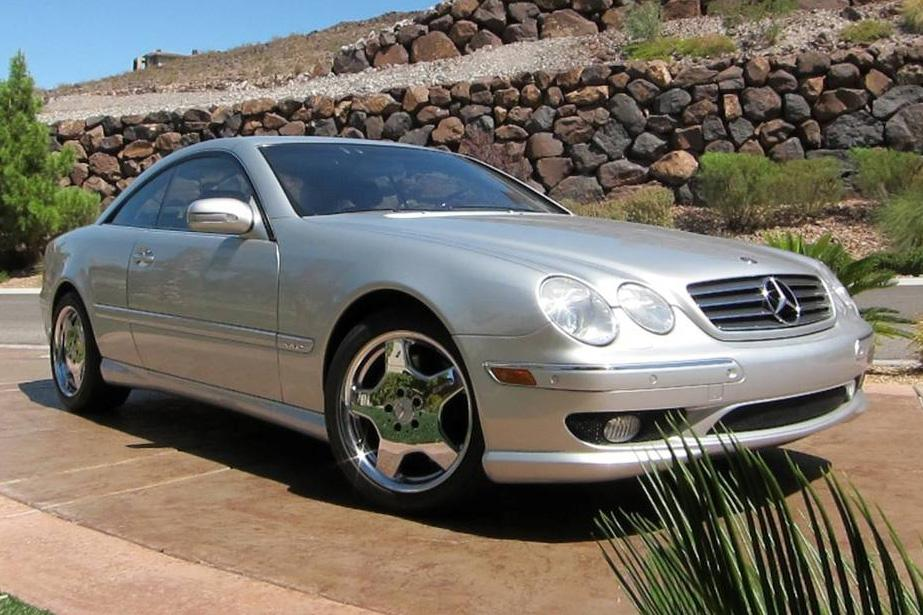 2002 MERCEDES-BENZ CL600 COUPE - Front 3/4 - 114593