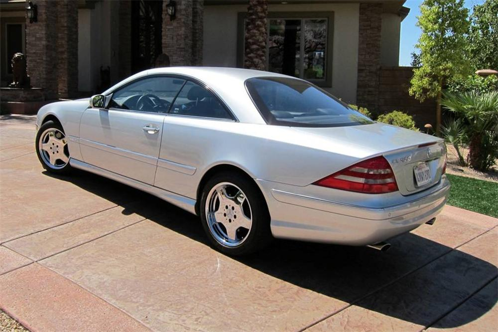 2002 MERCEDES-BENZ CL600 COUPE - Rear 3/4 - 114593