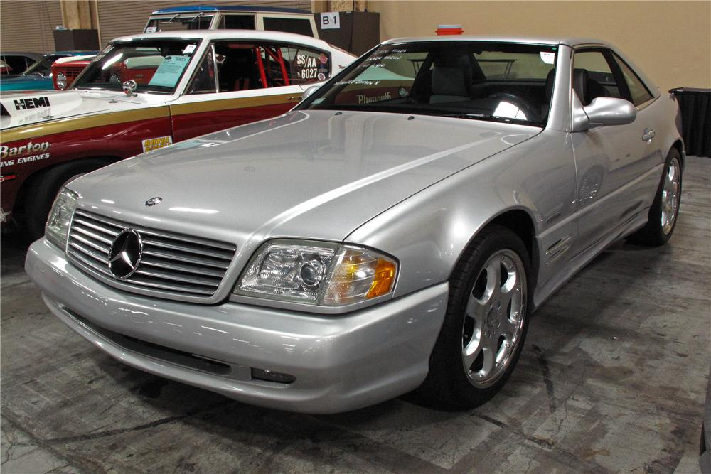 2002 MERCEDES-BENZ SL500 SILVER ARROW ROADSTER - Front 3/4 - 114595