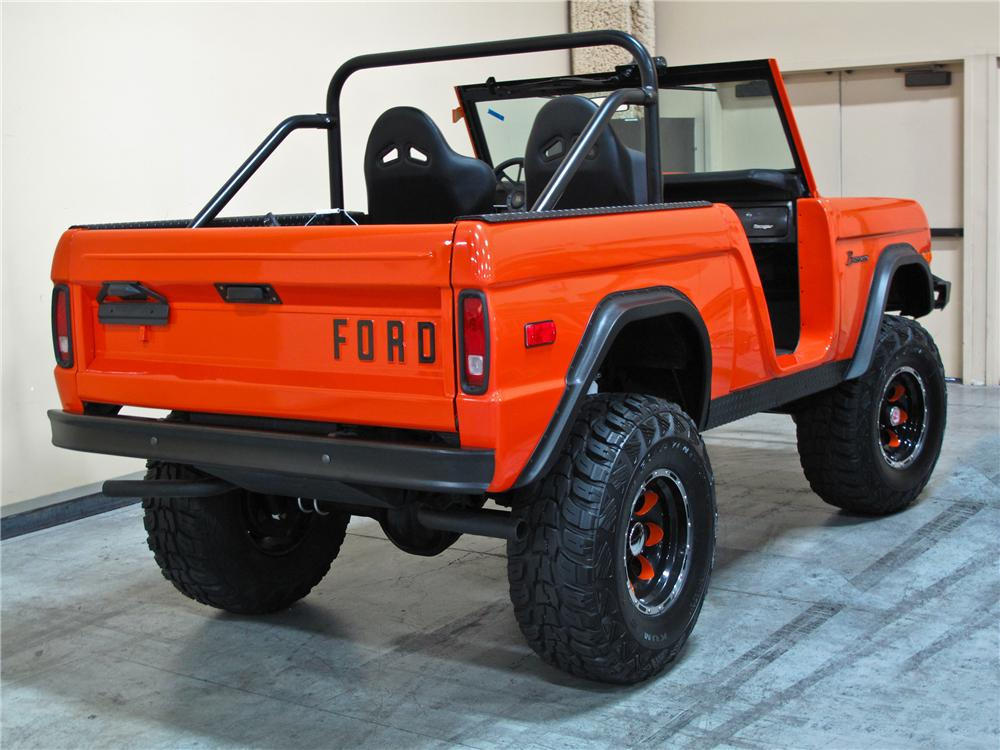 1974 FORD BRONCO SUV - Rear 3/4 - 115174