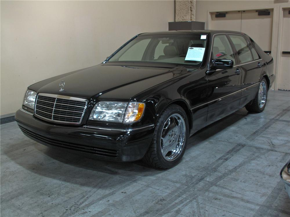 1999 mercedes benz s500 grand edition 4 door sedan 115394