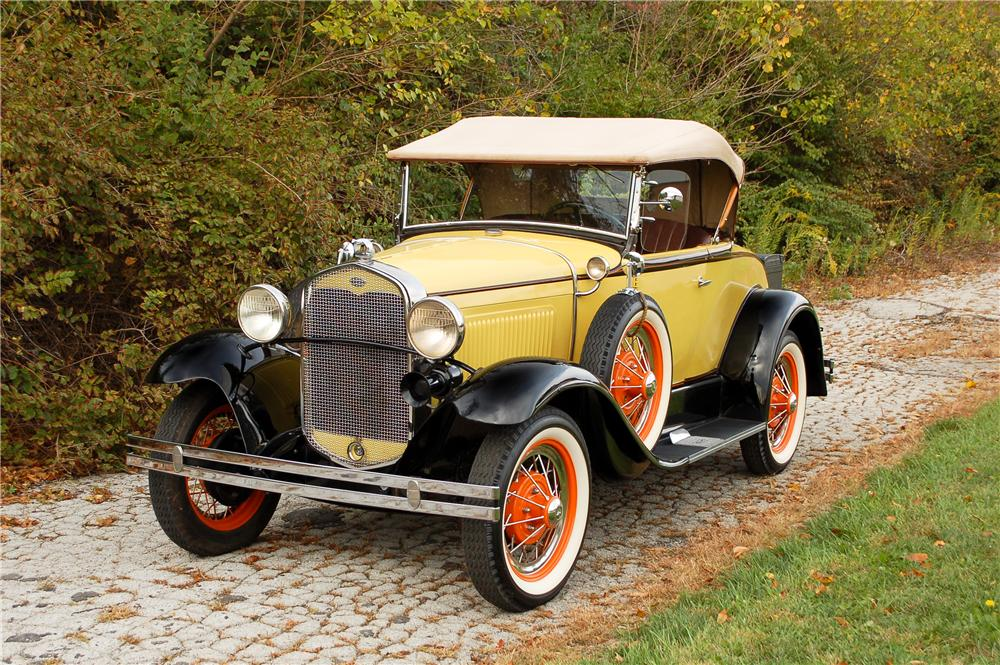 1931 FORD MODEL A ROADSTER - Side Profile - 115893