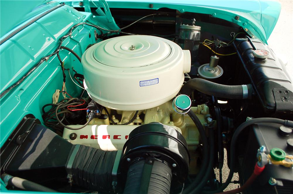 1955 MERCURY MONTCLAIR CONVERTIBLE - Engine - 115899