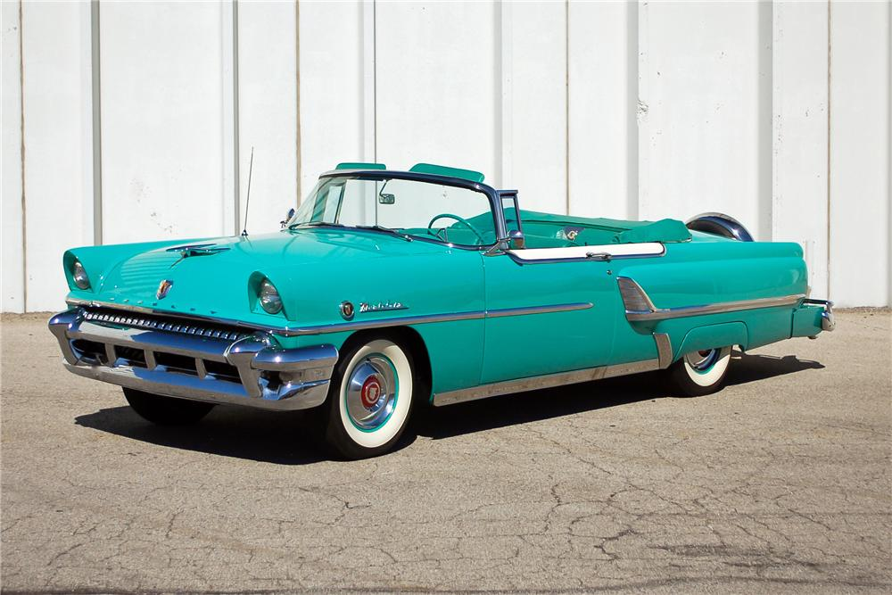 1955 MERCURY MONTCLAIR CONVERTIBLE - Front 3/4 - 115899