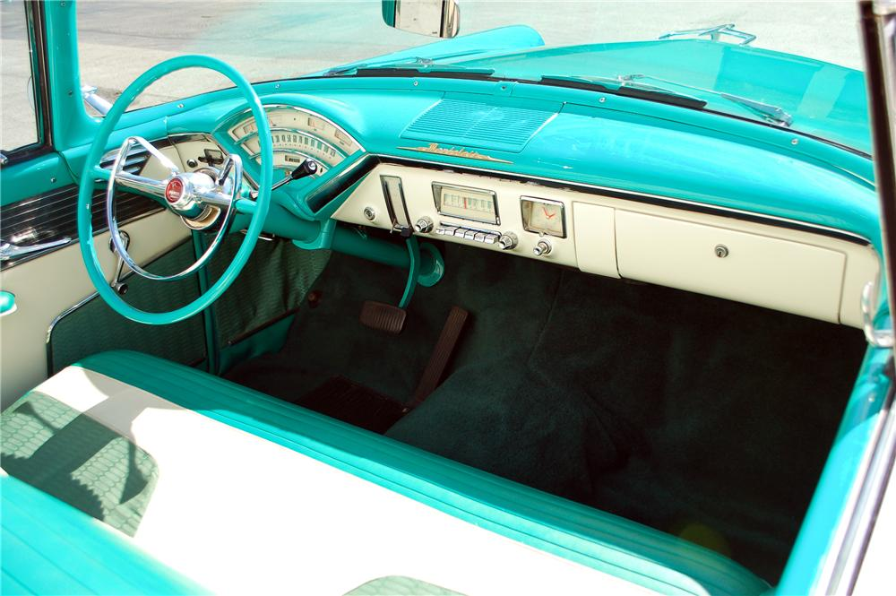1955 MERCURY MONTCLAIR CONVERTIBLE - Interior - 115899