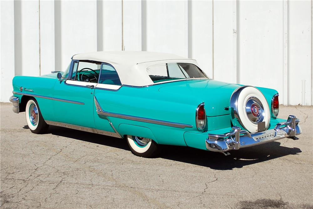 1955 MERCURY MONTCLAIR CONVERTIBLE - Rear 3/4 - 115899