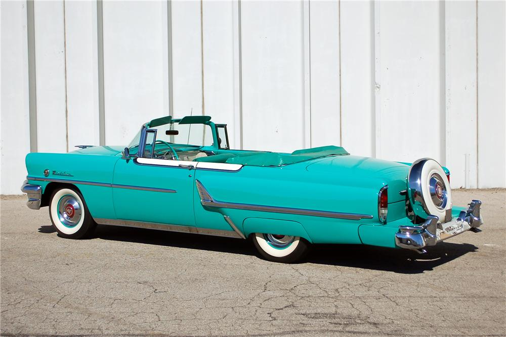 1955 MERCURY MONTCLAIR CONVERTIBLE - Side Profile - 115899