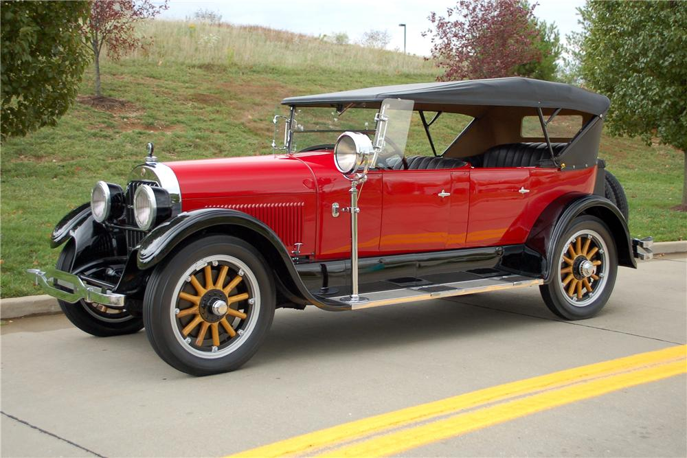 1924 CADILLAC V-63 PHAETON - Side Profile - 115903