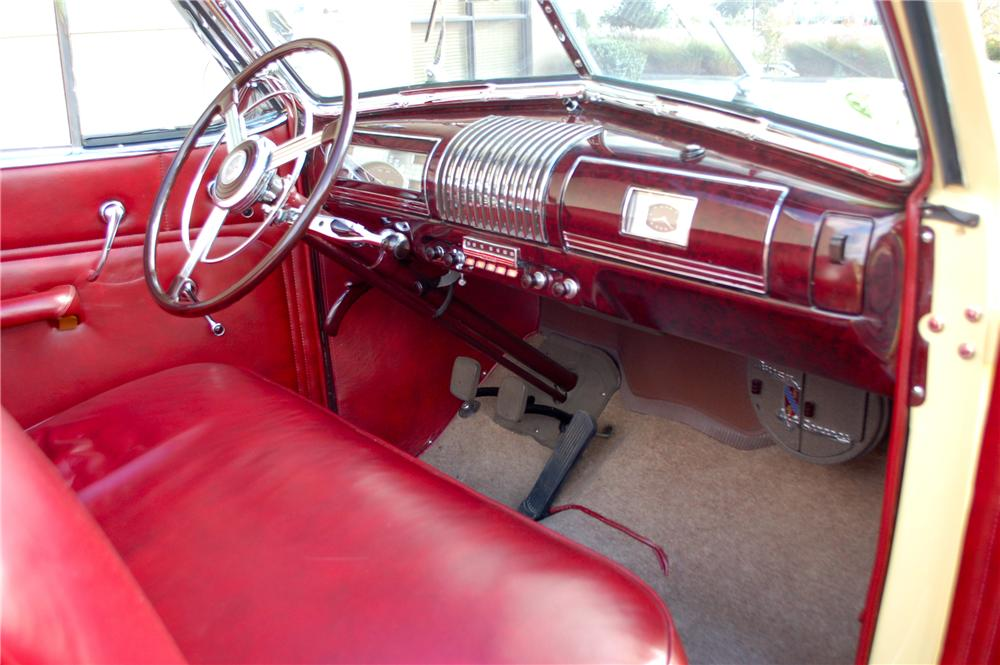 1939 BUICK ROADMASTER CONVERTIBLE SEDAN - Interior - 115904