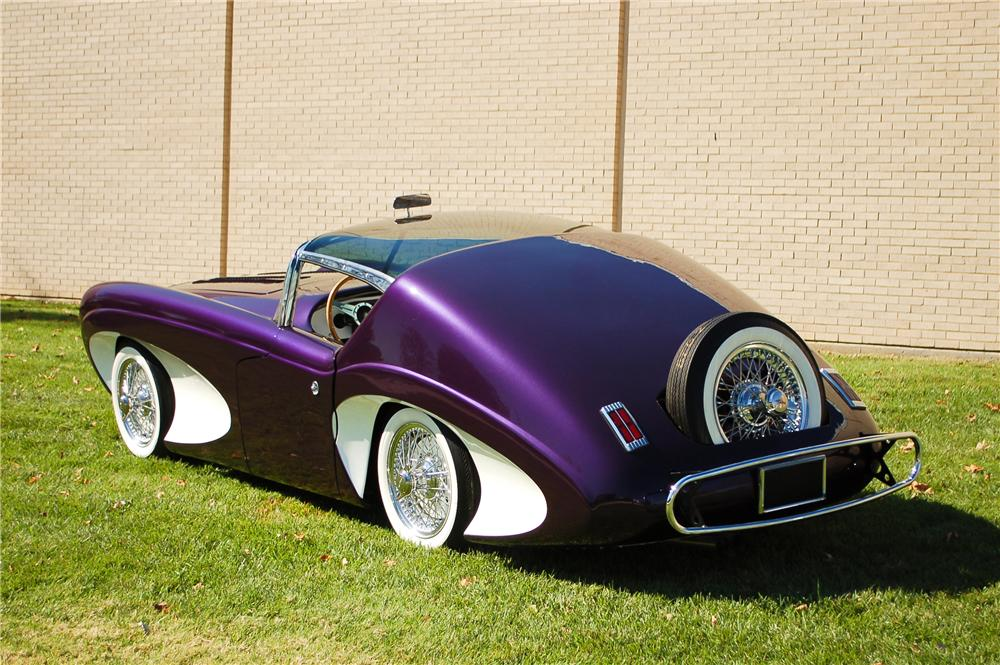 1955 FLAJOLE FORERUNNER COUPE CONCEPT - Rear 3/4 - 115905