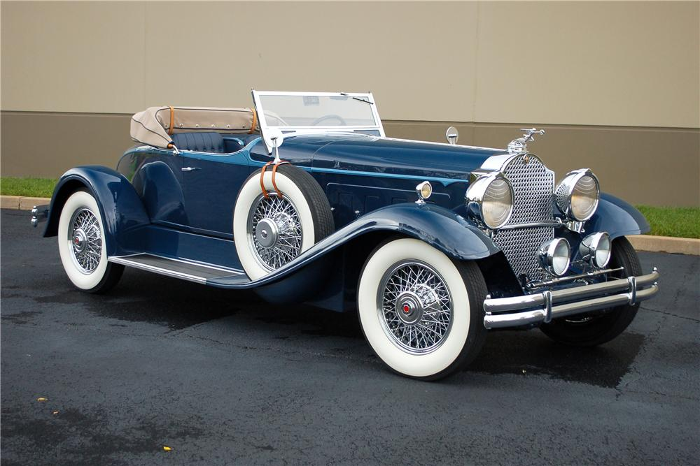 1930 PACKARD CUSTOM SPEEDSTER - Front 3/4 - 115906