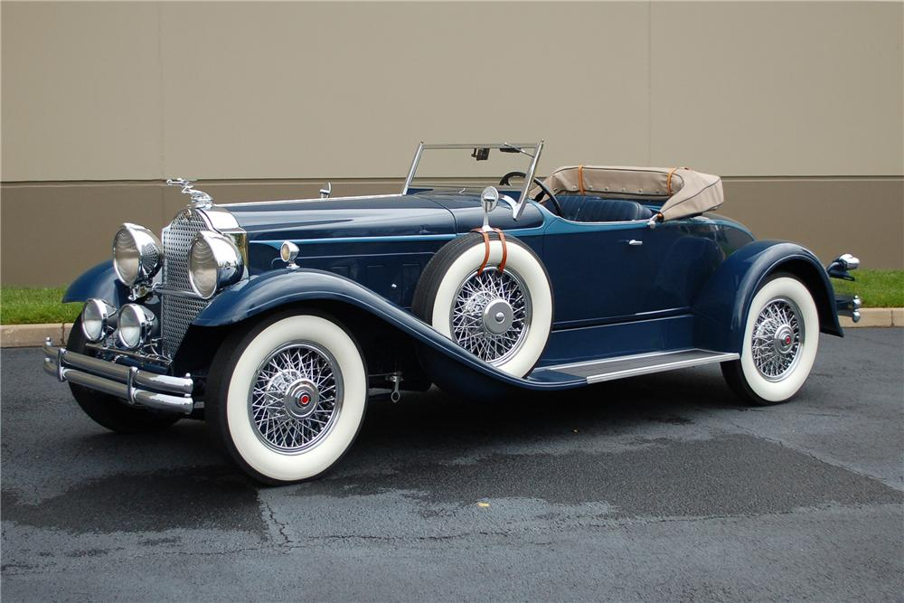 1930 PACKARD CUSTOM SPEEDSTER - Side Profile - 115906