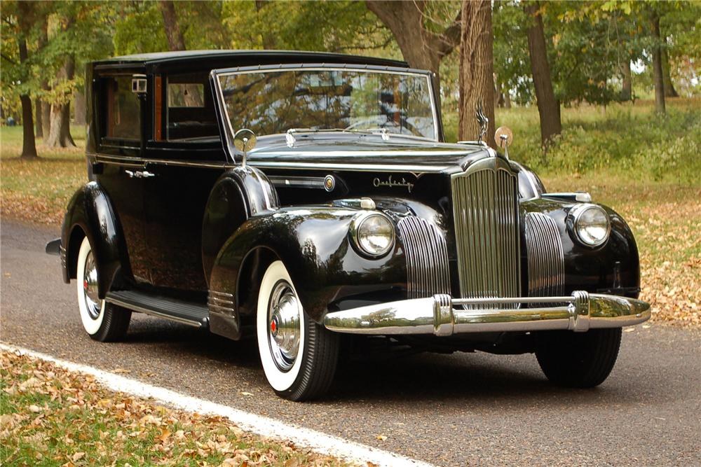 1941 PACKARD 160 LIMOUSINE - Front 3/4 - 115908