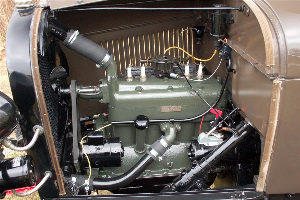 1929 FORD MODEL A SNOW BIRD - Engine - 115910