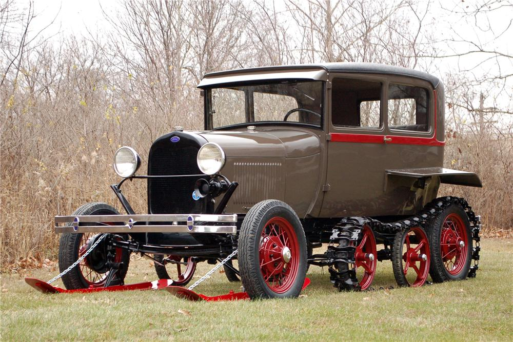 1929 FORD MODEL A SNOW BIRD - Front 3/4 - 115910
