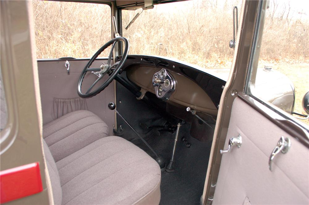 1929 ford model a snow bird interior 115910
