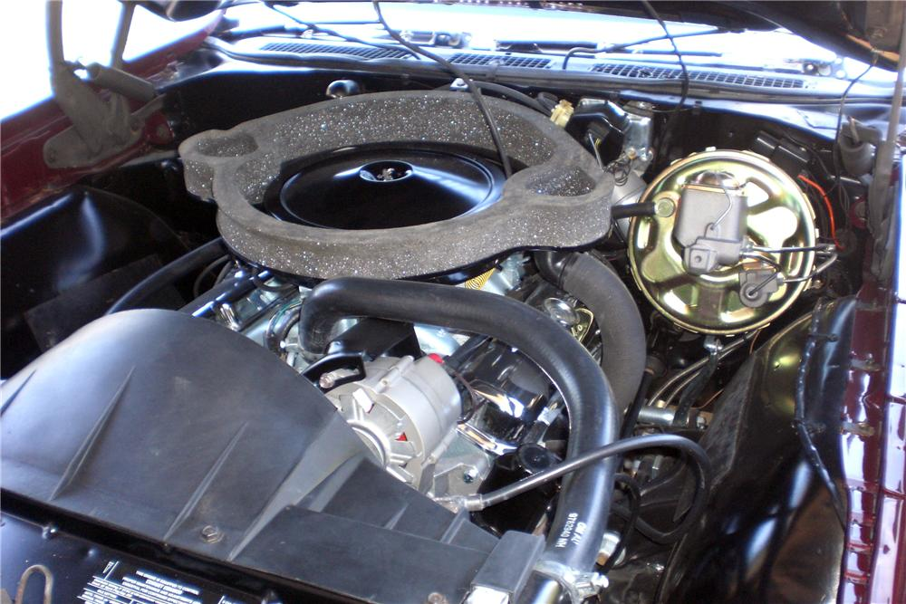 1970 PONTIAC GTO JUDGE CONVERTIBLE - Engine - 115911