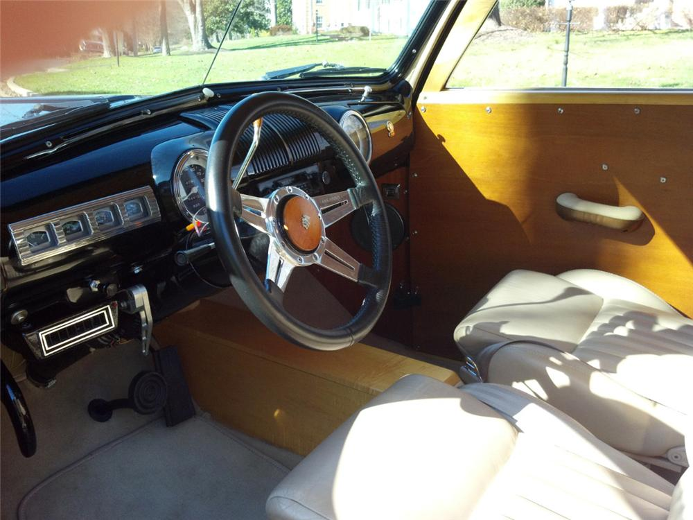 1947 MERCURY CUSTOM WOODY WAGON - Interior - 115914